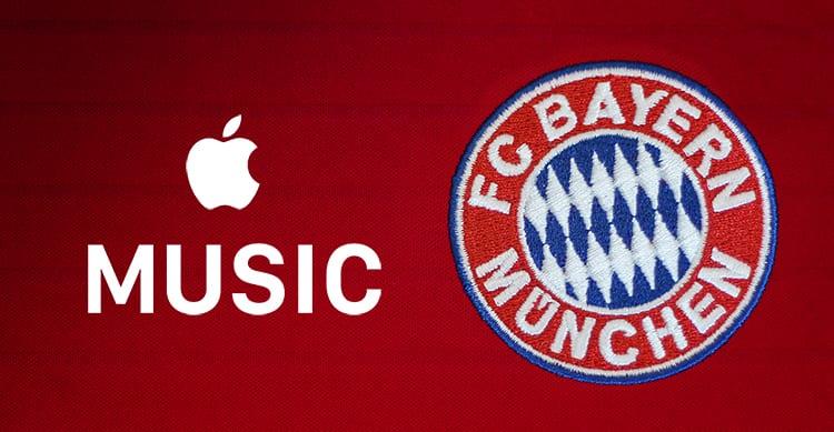 Apple Music e l'FC Bayern Monaco stringono una partnership con playlist e contenuti esclusivi