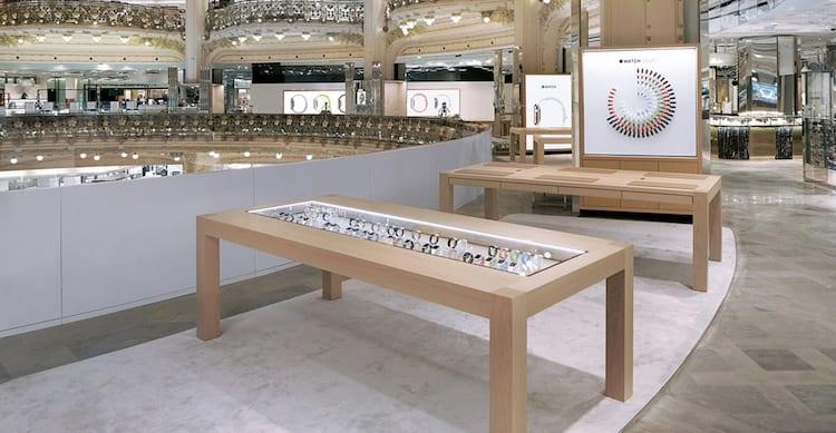 Apple Watch: chiude il pop-up shop alla Galeries Lafayette di Parigi