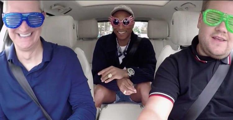 Apple Music: nuovo format per Carpool Karaoke rispetto alla versione CBS