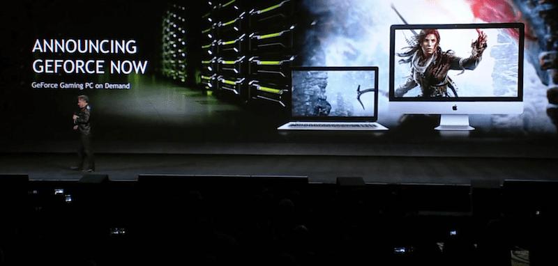 """CES 2017: """"GeForce Now"""" è il nuovo servizio cloud di Nvidia che porterà i grandi giochi anche sul Mac"""