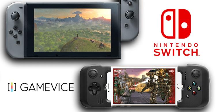 Il nuovo controller Gamevice trasforma l'iPhone 7 in una Nintendo Switch