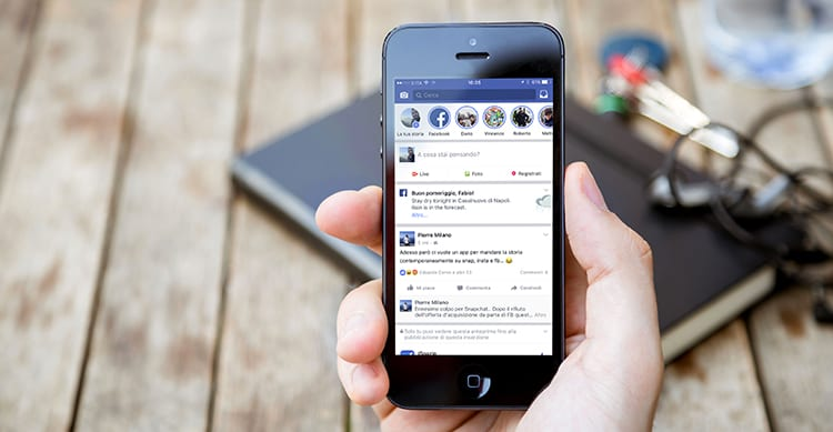 Le Storie sbarcano anche su Facebook con Live Stories