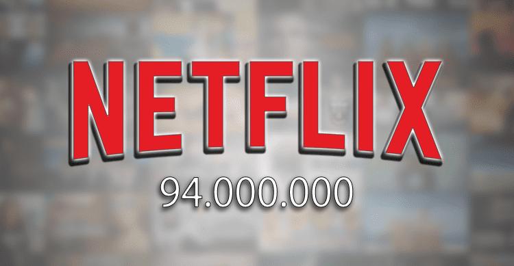 Netflix continua la scalata raggiungendo i 94 milioni di utenti