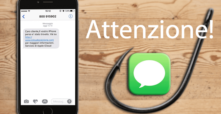Nuovi SMS di phishing hanno lo scopo di rubare i dati degli account Apple