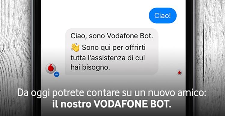 Vodafone lancia il primo Bot per Facebook Messenger, in grado di offrire supporto automatico agli utenti