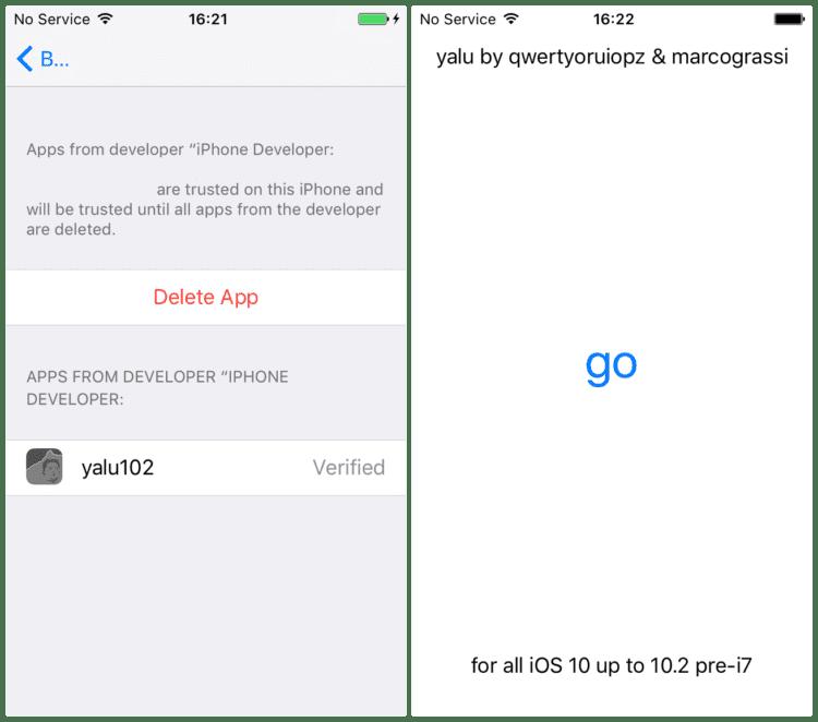 iOS 10.2 su Iphone