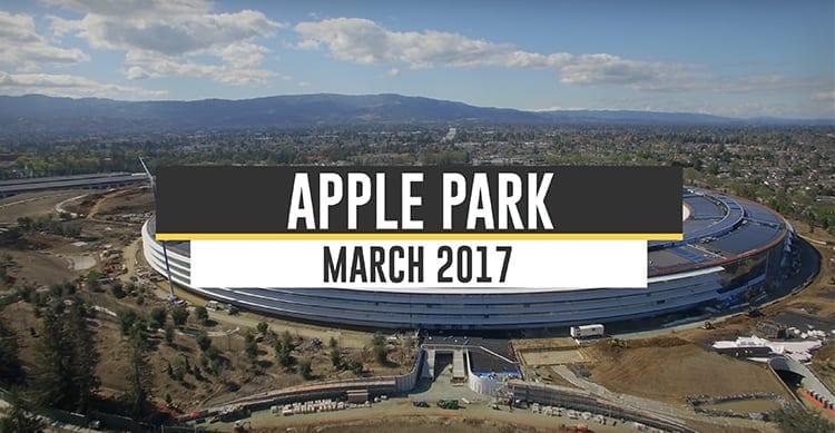 Un nuovo video mostra lo stato dei lavori all'Apple Campus 2 [Video]