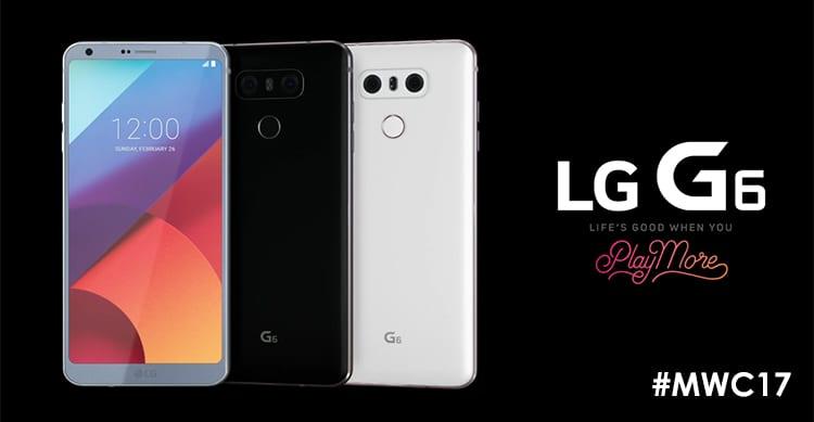 LG presenta il nuovo LG G6 con schermo da 5,7 pollici e 18:9 | MWC17