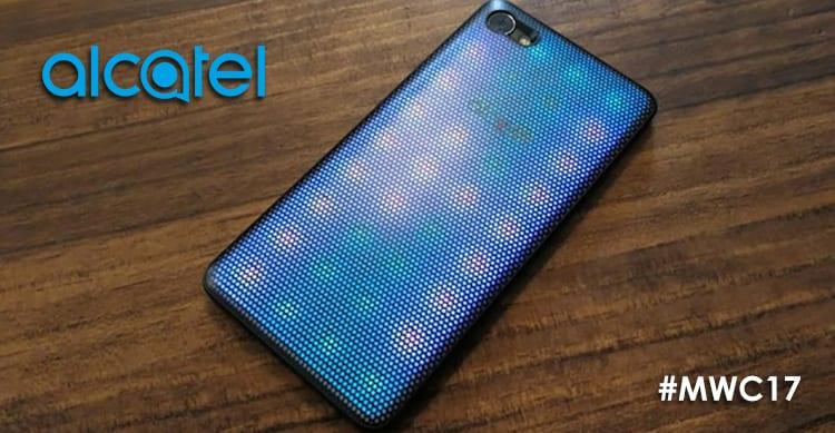 Alcatel A5 LED: una back-cover come non l'avete mai vista