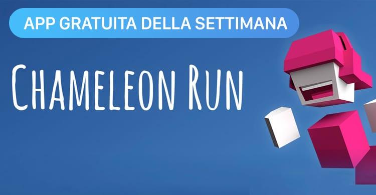 Apple regala Chameleon Run con l'App della Settimana, uno dei giochi più carini, vincitore dell'Apple Design Award [Video]