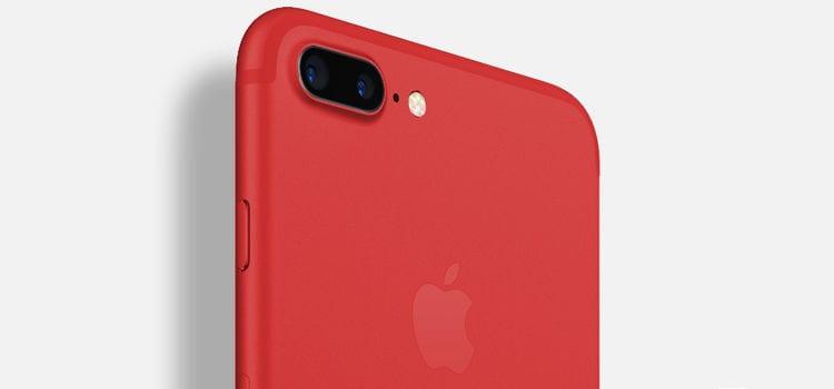 iPhone 7 e 7 Plus: un rivenditore cinese annuncia la nuova colorazione rossa?