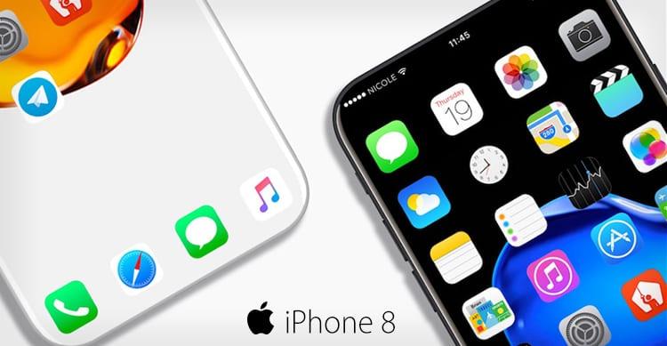 KGI: iPhone 8 non avrà il tasto Home ma un'intera area funzionale