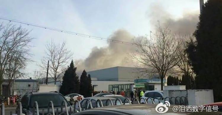 Ancora guai per Samsung: scoppia un incendio nella fabbrica delle batterie dei Note 7