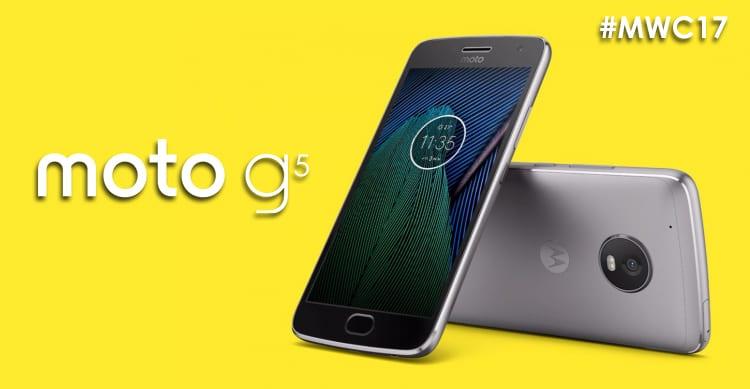 Lenovo annuncia la nuova generazione di Moto G: ecco i nuovi Moto G5 e Moto G5 Plus | MWC17