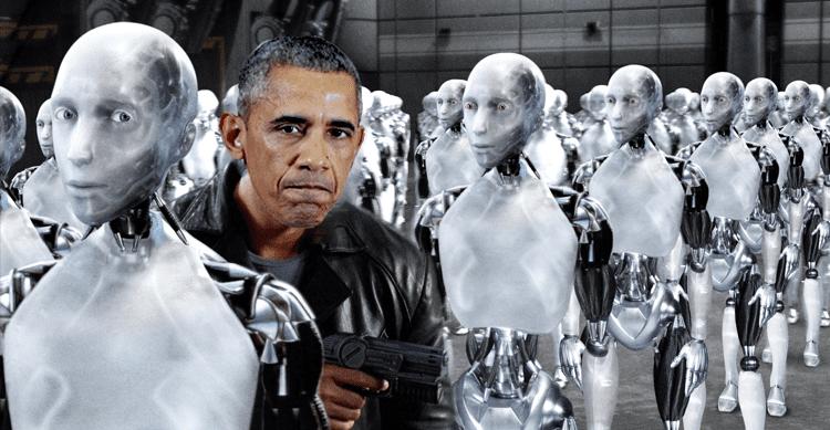 """Obama si scaglia contro Amazon e """"l'automazione che distrugge il lavoro"""""""