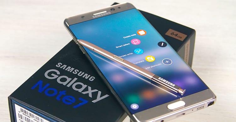 Samsung sarebbe pronta a vendere i Galaxy Note 7 ricondizionati