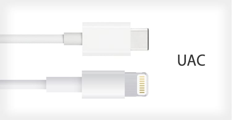 """Apple crea una nuova porta """"Ultra Accessory Connector"""" (UAC) più piccola di quella Lightning e USB-C [AGGIORNATO]"""