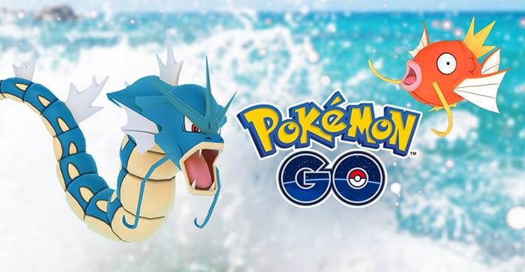 """Pokémon GO: i Pokémon acquatici appaiono più spesso durante il """"Water Festival"""""""