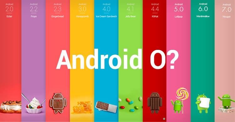 Al prossimo Google I/O verrà mostrata un'anteprima di Android O, la prossima versione del sistema operativo