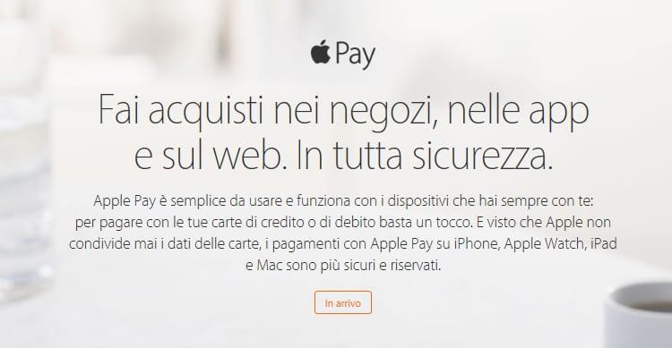 È UFFICIALE: Apple Pay sta per arrivare anche in Italia!