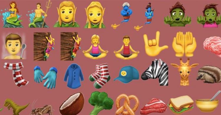 Nuove emoji, ecco i 69 simboli Unicode 10 che arriveranno su iOS 11