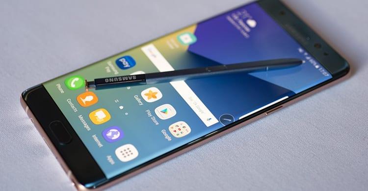 Samsung annuncia il ritorno sul mercato del Galaxy Note 7, ma come dispositivo ricondizionato