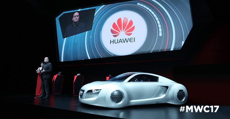 Huawei e Vodafone presentano la Connected Car Experience del futuro al MWC 2017