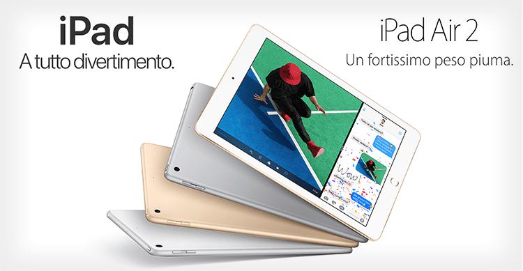 Tutte le differenze tra iPad Air 2 e il nuovo iPad da 9,7 pollici