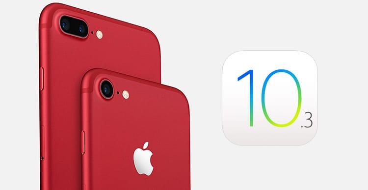 Gli iPhone 7 RED arriveranno negli Apple Store italiani dalla prossima settimana con iOS 10.3 a bordo