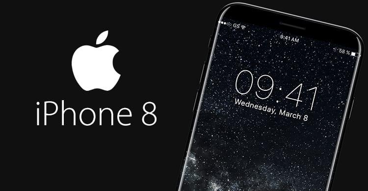 Nuovo concept per iPhone 8: display curvo, cornici sottilissime e Dark Mode