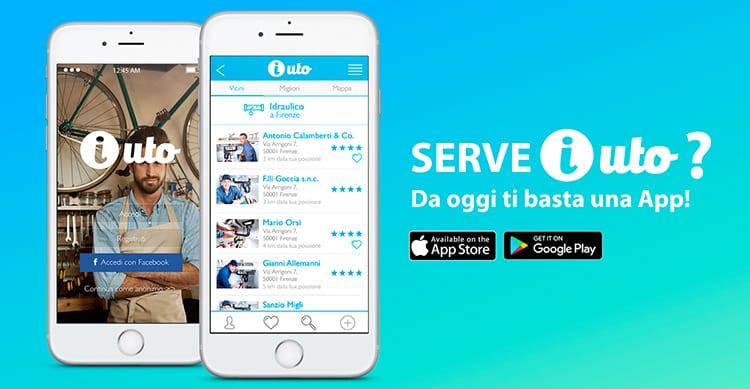 iUto, l'applicazione tutta italiana che offre lavoro e permette di trovare professionisti nelle vicinanze per ogni occasione [Video]