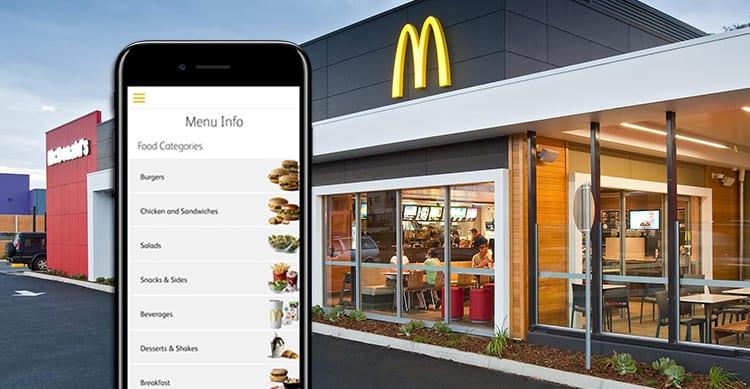 McDonald's: presto potremo ordinare e pagare direttamente dall'applicazione