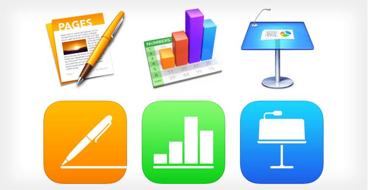 Apple aggiorna Pages, Numbers e Keynote per iOS e macOS alla versione 3.1