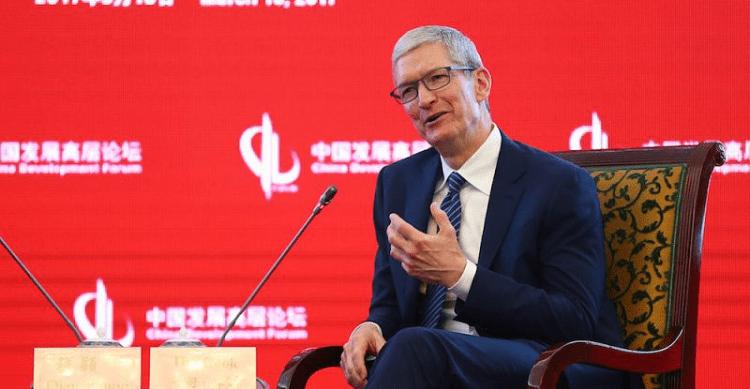 Il CEO di Apple Tim Cook difende la globalizzazione al China Development Forum 2017