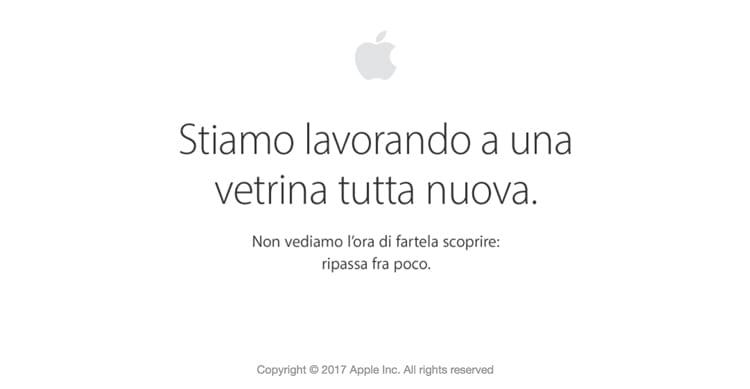 Apple Store offline, arriveranno nuovi iPad Pro o sarà aggiornata la linea Mac?