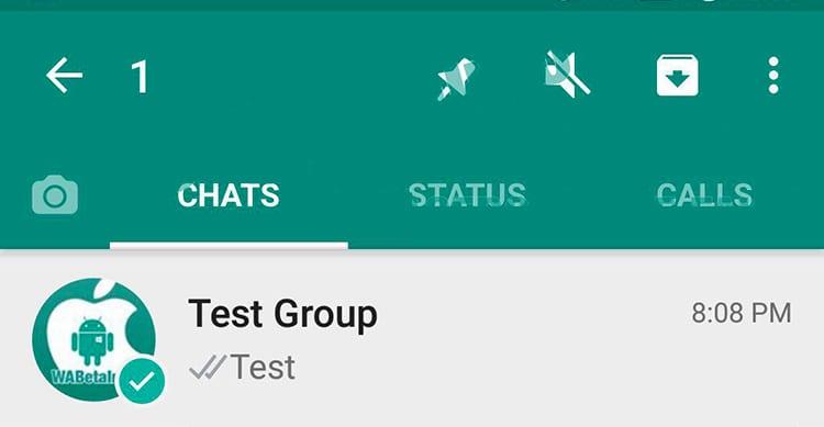Su WhatsApp stanno arrivando i Pin per tenere le conversazioni in Evidenza ed il supporto alle GIF da GBoard