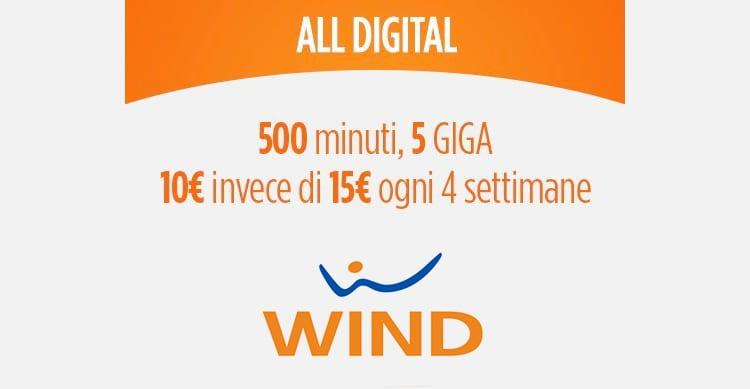 wind sperimenta la vendita di sim card su amazon con all