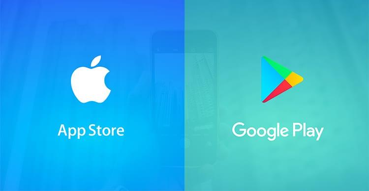 Google Play stabilisce un nuovo record di download. L'App Store invece, un nuovo record di incassi