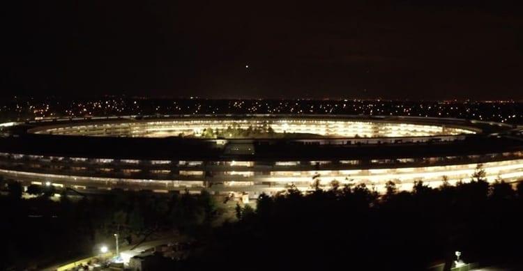 Apple Park, nuovo video di metà Aprile con gli ultimi aggiornamenti sui lavori