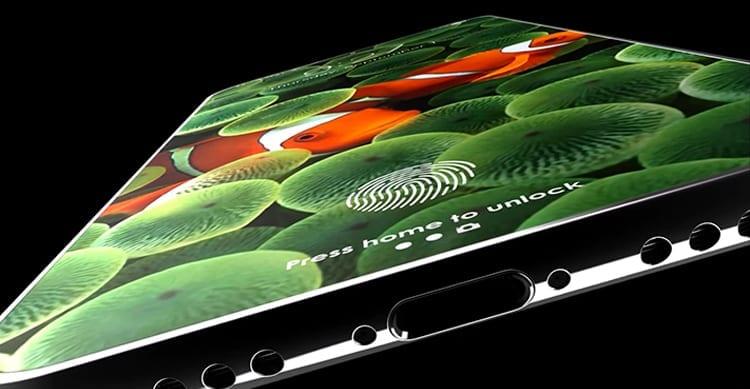 Un nuovo concept per l'iPhone 8, completamente senza cornici e tutto schermo con Touch ID integrato [Video]