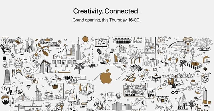 L'Apple Store al Dubai Mall aprirà il 27 Aprile