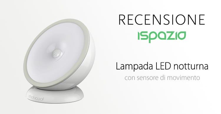 Sensore Per Accendere La Luce.Recensione Lampada Notturna A Led Magnetica Con Accensione