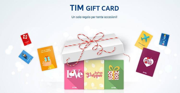 TIM presenta le Gift Card, per regalare 3GB in 4G ad un amico