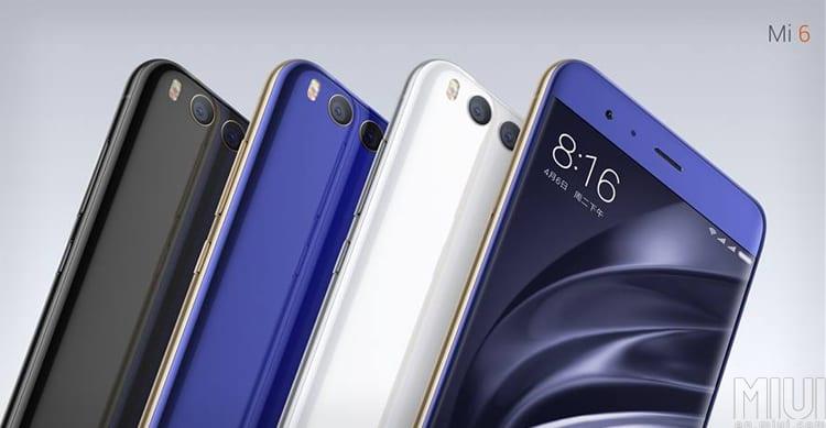 Xiaomi presenta Mi 6: Ecco le caratteristiche tecniche ed i prezzi dello smartphone