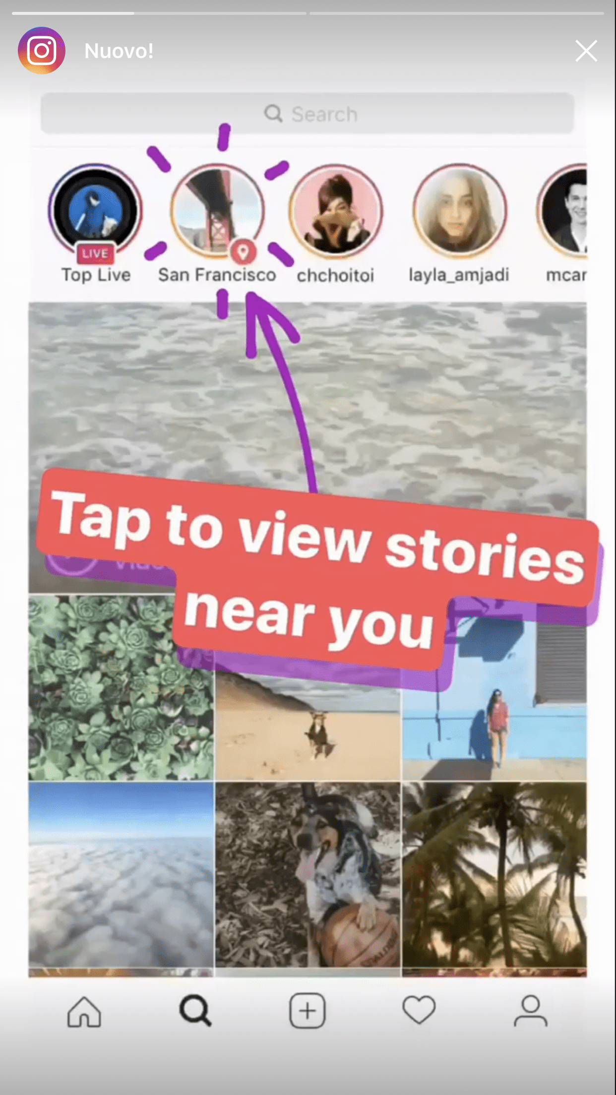 Instagram has 4 new: The archive, the Location Sto... - BitFeed.co
