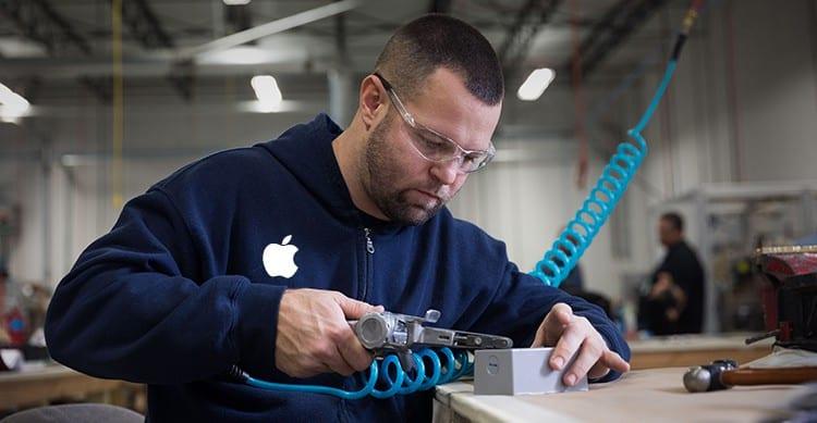 Apple: abbiamo creato oltre 2 milioni di posti di lavoro negli Stati Uniti