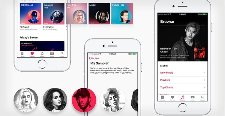 Scartato da Apple per uno stage, un giovane designer riprogetta Apple Music