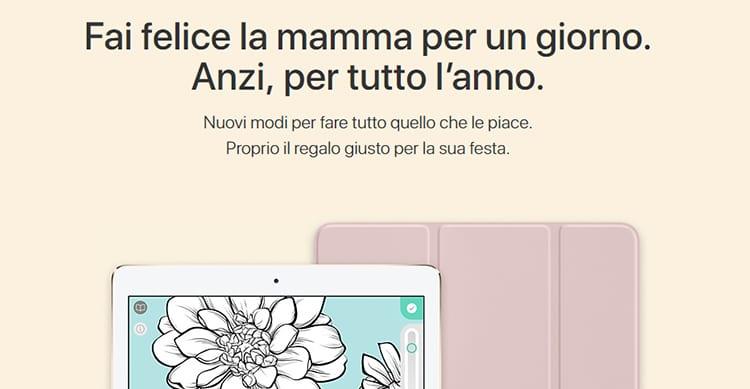 Apple consiglia il regalo perfetto per la Festa della Mamma