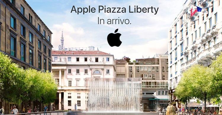 Apple annuncia l'imminente apertura del nuovo Store di Milano in Piazza Liberty: Ecco come sarà