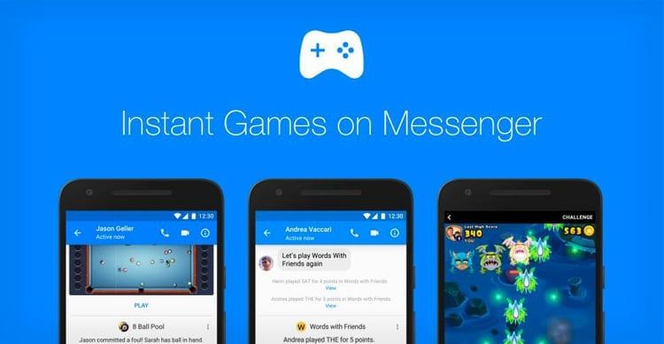 facebook messenger giochi
